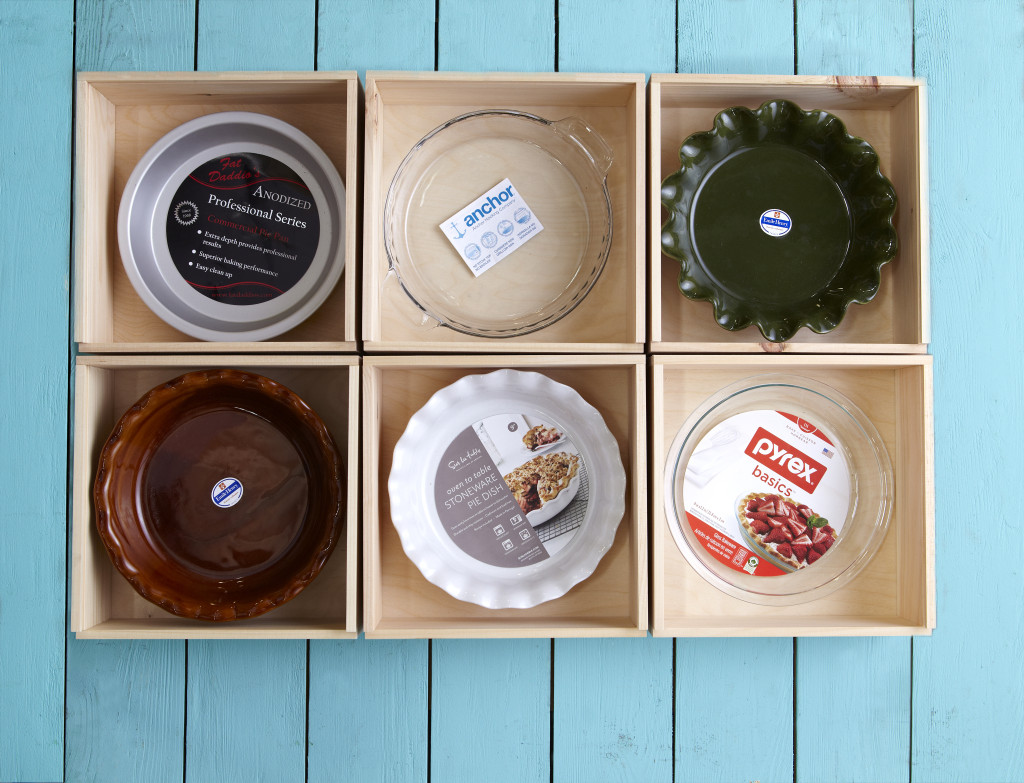 Pie plates in PieBox