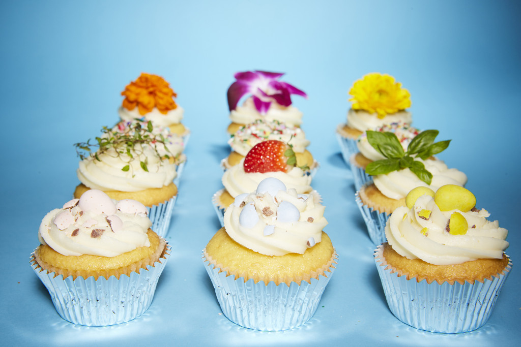 cupcakes with candy